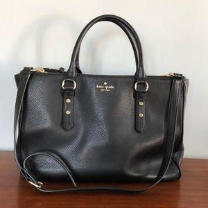 Kate Spade leather tote bag